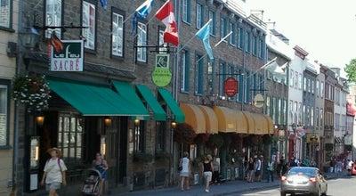 Photo of Ice Cream Shop Tutto Gelato at 716 Rue Saint-jean, Québec, Ca G1R 1P9, Canada
