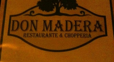 Photo of Brazilian Restaurant Don Madera - Restaurante e Chopperia at Av. Brasil, 847, Americana, Brazil