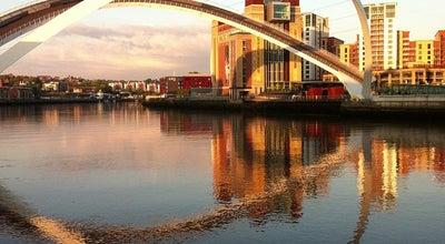 Photo of Bridge Gateshead Millennium Bridge at South Shore Rd., Newcastle upon Tyne NE8 3AE, United Kingdom