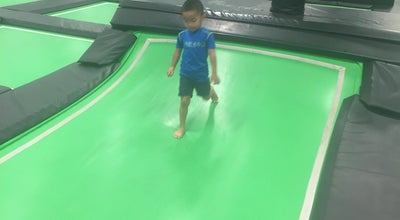 Photo of Theme Park Ride / Attraction Flight Deck Trampoline Park Arlington at 1600 W Interstate 20, Arlington, TX 76017, United States