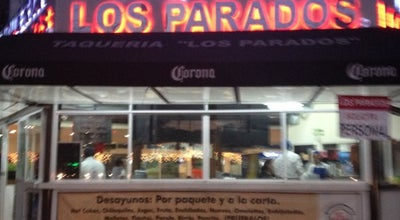 Photo of Taco Place Los Parados at Av. Universidad 540, México 03650, Mexico
