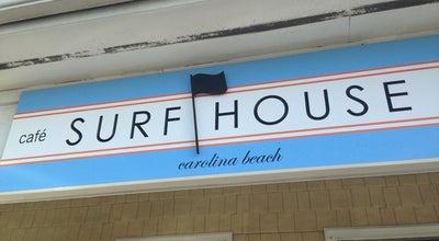 Photo of Cafe Surf House Cafe & Shop at 604 Lake Park Blvd N, Carolina Beach, NC 28428, United States