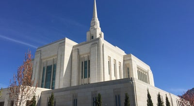 Photo of Temple Ogden Utah Temple at 350 E 22nd St, Ogden, UT 84401, United States
