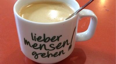 Photo of Cafe Bib-Lounge at Zellescher Weg 18, Dresden 01069, Germany