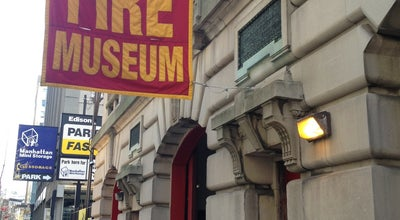 Photo of Museum New York Fire Museum at 278 Spring St, New York, NY 10013, United States