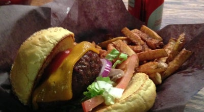 Photo of Burger Joint Woody's Burgers bar and grill at 3795 Lakeshore Blvd. W, Etobicoke, ON M8W 1R2, Canada