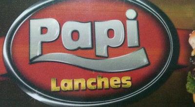 Photo of Burger Joint Papi Lanches at Avenida Pansani, Votuporanga, Brazil