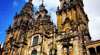 Photo of Church Catedral de Santiago de Compostela at Praza Do Obradoiro, Santiago de Compostela 15782, Spain