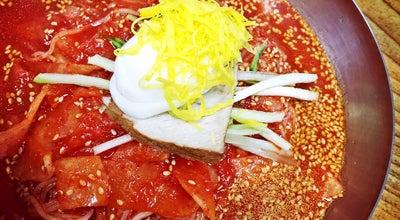 Photo of Ramen / Noodle House 가야밀면 at 북정2길 10, 양산시 626-110, South Korea