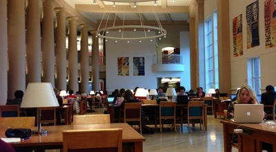 Photo of College Library Grainger Engineering Library at 1301 W Springfield Ave, Urbana, IL 61801, United States
