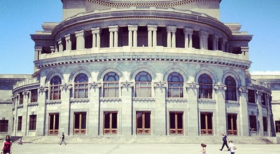 Photo of Opera House Opera & Ballet National Academic Theatre | Օպերայի և բալետի ազգային ակադեմիական թատրոն at 54 Tumanyan St., Yerevan, Armenia
