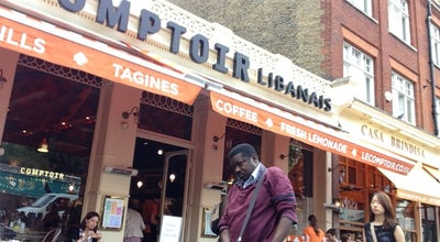 Photo of Middle Eastern Restaurant Comptoir Libanais at 5 Exhibition Rd, South Kensington SW7 2HE, United Kingdom