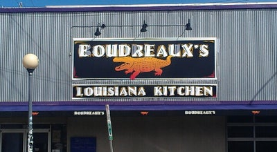 Photo of Seafood Restaurant Boudreaux's Louisiana Kitchen at 501 E 36th St, Charlotte, NC 28205, United States