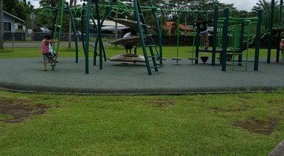 Photo of Playground Panaewa Park at 100 Ohuohu St, Hilo, HI 96720, United States