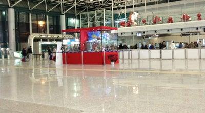 """Photo of Airport Terminal Fiumicino Airport - Departures at Aeroporto Di Roma Fiumicino """"leonardo Da Vinci"""" (fco), Fiumicino, Italy"""
