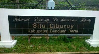 Photo of Lake Situ Ciburuy at Jalan Raya Ciburuy, West Java, Indonesia