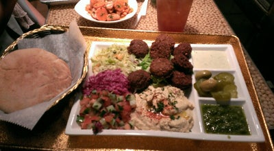 Photo of Falafel Restaurant Nish Nūsh at 88 Reade St, New York, NY 10013, United States