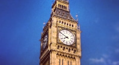Photo of Monument / Landmark Elizabeth Tower (Big Ben) at Parliament Sq, London, Greater London S W1P, United Kingdom