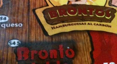 Photo of Burger Joint Brontos Hamburguesas al Carbón at 31 Oriente, Puebla, Mexico