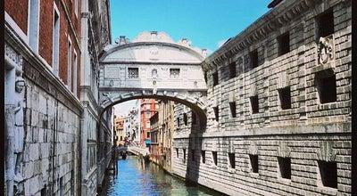 Photo of Bridge Ponte dei Sospiri at Piazza San Marco, Venezia, Venice 30122, Italy
