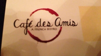 Photo of French Restaurant Cafe des Amis at 112 Main St, Parkville, MO 64152, United States