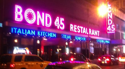 Photo of Italian Restaurant Bond 45 at 154 W 45th St, New York, NY 10036, United States