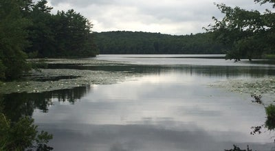 Photo of Lake Lake Waban at Wellesley, MA, United States