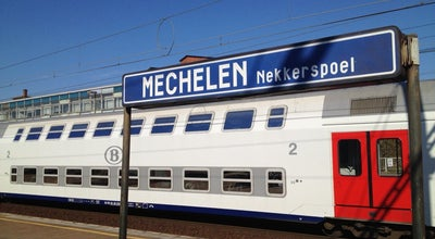 Photo of Train Station Station Mechelen-Nekkerspoel at Ontvoeringsplein, Mechelen 2800, Belgium