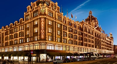 Photo of Department Store Harrods at 87-135 Brompton Rd, London SW1X 7XL, United Kingdom