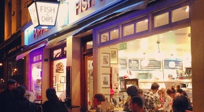 Photo of Fish and Chips Shop Poppies Fish & Chips at 6-8 Hanbury St, London E1 6QR, United Kingdom