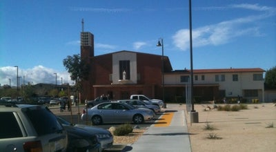 Photo of Church Sacred Heart Catholic Church at 565 W Kettering St, Lancaster, CA 93534, United States