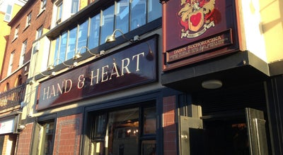 Photo of Gastropub Hand And Heart at 65 Derby Rd, Nottingham NG1 5BA, United Kingdom