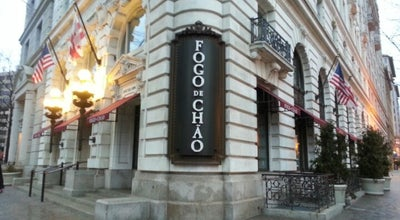 Photo of Brazilian Restaurant Fogo de Chao at 1101 Pennsylvania Ave Nw, Washington, DC 20004, United States