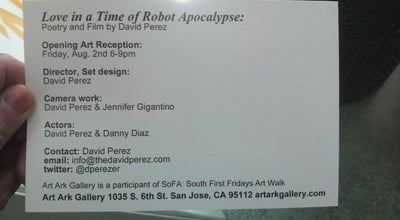 Photo of Art Gallery Art Ark Gallery at 1035 S 6th St, San Jose, CA 95112, United States