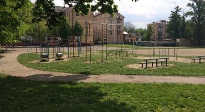 Photo of Playground Площадка во дворе at Северный Бульвар, 3, Ивано-Франковск, Ukraine