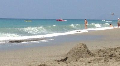 Photo of Beach Mahmutlar Sahil at Mahmutlar, Alanya, Turkey