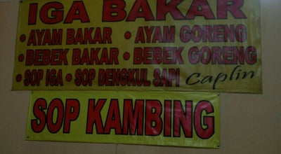 Photo of BBQ Joint Iga Bakar & Bebek Bakar Caplin at Jl. Hos Cokroaminoto, Indonesia