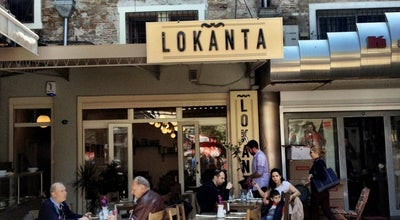 Photo of Mediterranean Restaurant LOKANTA at Fevzipaşa Blv. Karaosmanoğlu Han No:32 Konak, İzmir 35351, Turkey