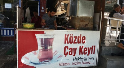 Photo of Cafe Közde Çay Keyfi Hakim TURHAN at Kahveler Duragi, Turkey