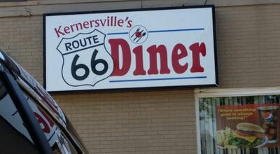 Photo of Diner Kernersville's Route 66 Diner at 701 North Carolina 66, Kernersville, NC 27284, United States
