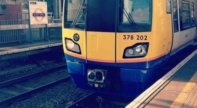 Photo of Train Station Hackney Central London Overground Station at Amhurst Rd, London E8 1LL, United Kingdom
