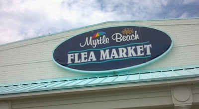 Photo of Tourist Attraction Myrtle Beach Flea Market at 3820 S Kings Hwy, Myrtle Beach, SC 29577, United States
