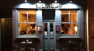 Photo of Vegetarian / Vegan Restaurant Mildred's at 45 Lexington St, Soho W1F 9AN, United Kingdom