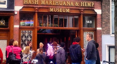 Photo of Museum Hash Marihuana & Hemp Museum at Oudezijds Achterburgwal 148, Amsterdam 1012 DV, Netherlands
