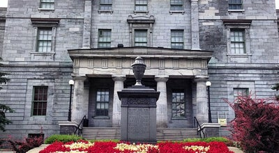 Photo of University McGill University at 845 Rue Sherbrooke Ouest, Montréal, QC H3A 2T5‎, Canada