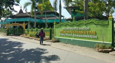 Photo of Mosque Masjid Sultan Suriansyah® at Kuin Utara, Banjarmasin, Indonesia
