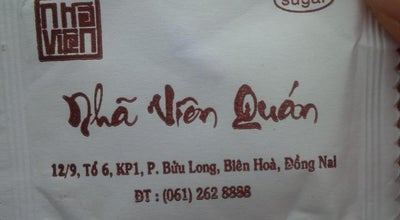 Photo of Vietnamese Restaurant Nhã Viên Quán at Vietnam