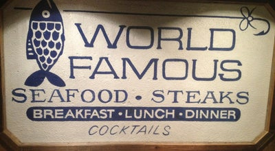 Photo of Seafood Restaurant World Famous at 711 Pacific Beach Dr., San Diego, CA 92109, United States
