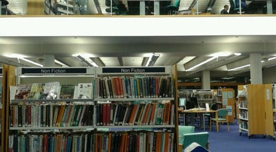 Photo of Library Bournemouth Library at The Triangle, Bournemouth BH 1 1, United Kingdom