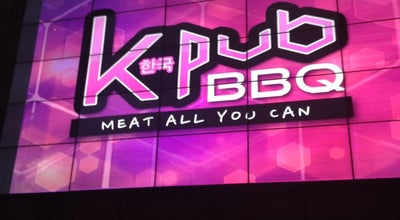 Photo of Korean Restaurant K-Pub BBQ at The Fort Strip, 5th Ave, Bonifacio Global City, Taguig City 1634, Philippines